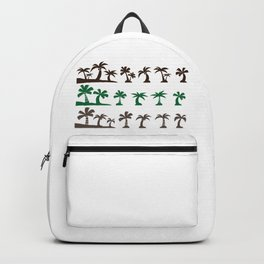 Beautiful Palm Trees Backpack