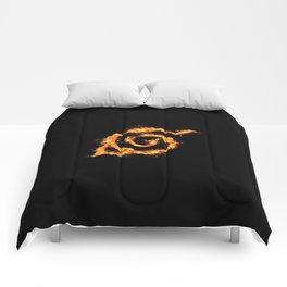 Konoha on Fire Comforters