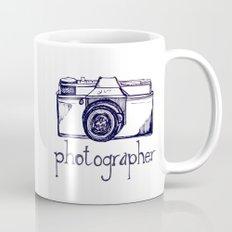 Photographer vintage camera Mug
