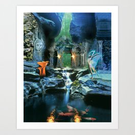 The Under Earth Art Print