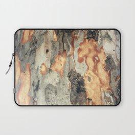 Peeling Scales Of Eucalyptus Tree Bark Laptop Sleeve