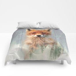 Vanishing Fox Comforters