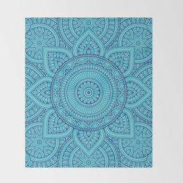 Mandala 7 Throw Blanket