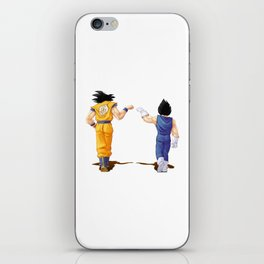 Fan Art Goku and Vegeta friends iPhone Skin