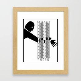 Avoid The Sheave Framed Art Print