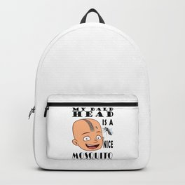Bald Head Mosquito Landing Strip Backpack