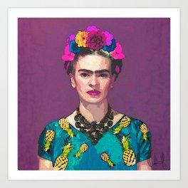 Trendy Frida Kahlo Kunstdrucke