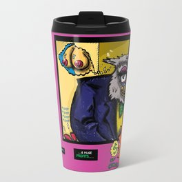 Bird of Steel Comix - Page #4 of 8 (Society 6 POP-ART COLLECTION SERIES)  Travel Mug