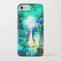 "hologram iPhone & iPod Cases featuring "" The voice  is a second face"" by shiva camille"