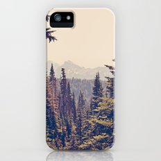 Mountains through the Trees iPhone (5, 5s) Slim Case