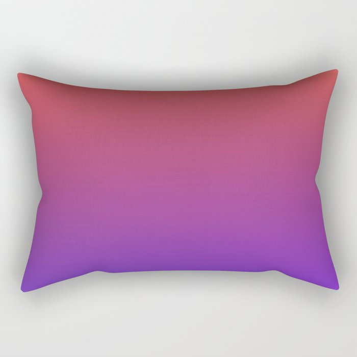 STEAM SCENE - Minimal Plain Soft Mood Color Blend Prints Rectangular Pillow