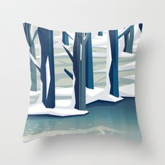 Spring was coming Throw Pillow