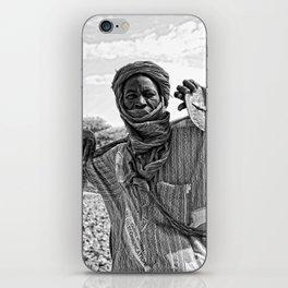 Touareg villager- Timbuktu, Africa iPhone Skin
