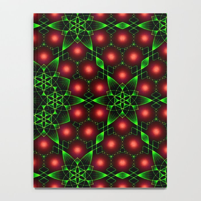 Christmas Patterns Notebook