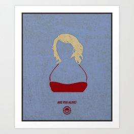 Caprica Six Art Print