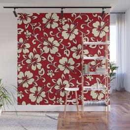 Malia Hawaiian Hibiscus Aloha Shirt Print Wall Mural