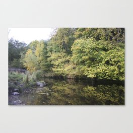 Water of Leith Edinburgh 2 Canvas Print