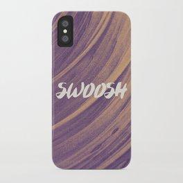 Swoosh iPhone Case