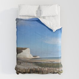 Seven Sisters Country Park, East Sussex, UK Comforters