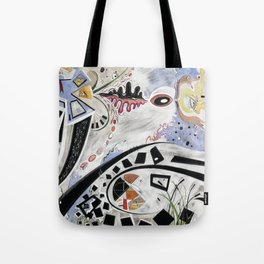 3000 Realms in a Single Moment Tote Bag