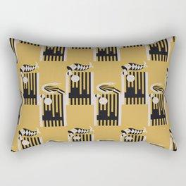 Art Deco Bird & Fish - Hemingway Rectangular Pillow