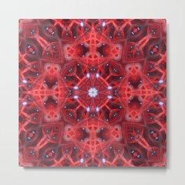 Star Resonance Mandala Metal Print