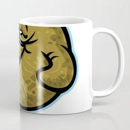 Angry Manatee Mascot Coffee Mug