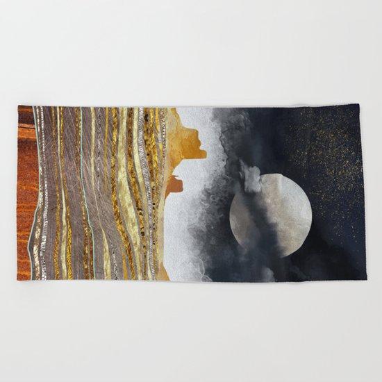 Metallic Desert Beach Towel