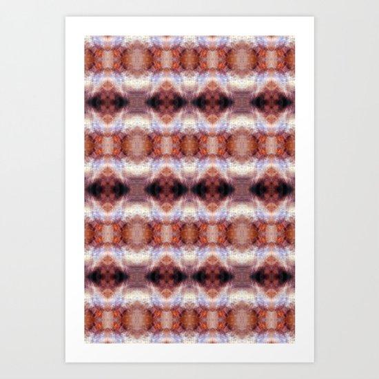 exit pattern Art Print
