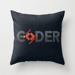 Coder Throw Pillow