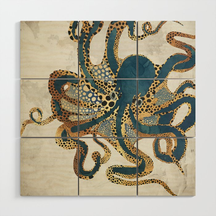 Underwater Dream VI Wood Wall Art
