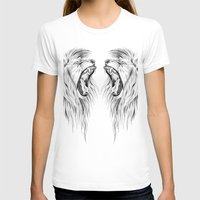 lions T-shirts featuring Lions by Libby Watkins Illustration