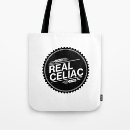 Real Celiac Tote Bag