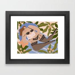 The beauty of self Framed Art Print