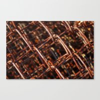 the wire Canvas Prints featuring wire by Seed Margarita