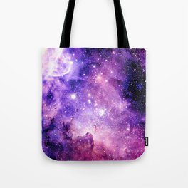 Galaxy Nebula Purple Pink : Carina Nebula Tote Bag