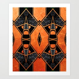 Geometric #947 Art Print