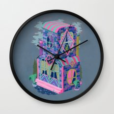 Diamond House Wall Clock