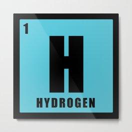Hydrogen is chemistry Metal Print