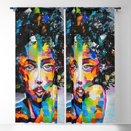 EXOTIC GIRL Blackout Curtain