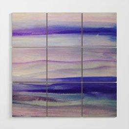 Purple Mountains' Majesty Wood Wall Art