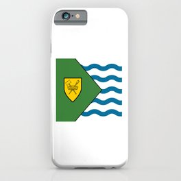 Flag of Vancouver iPhone Case