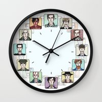 actor Wall Clocks featuring Benedict the Actor by enerjax