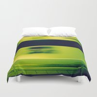 subway Duvet Covers featuring Paris Subway by Ibbanez