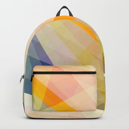 Abstract Geomtric Shape 04 Backpack