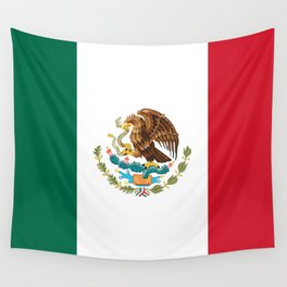 Mexican Flag Wall Tapestry