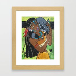 Pocahontas Avatar Framed Art Print