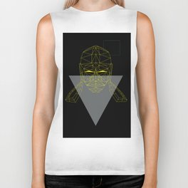 polygon head Biker Tank