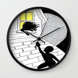 Let's Be Cliche AF Wall Clock