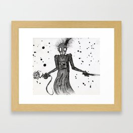 a sawed off Framed Art Print